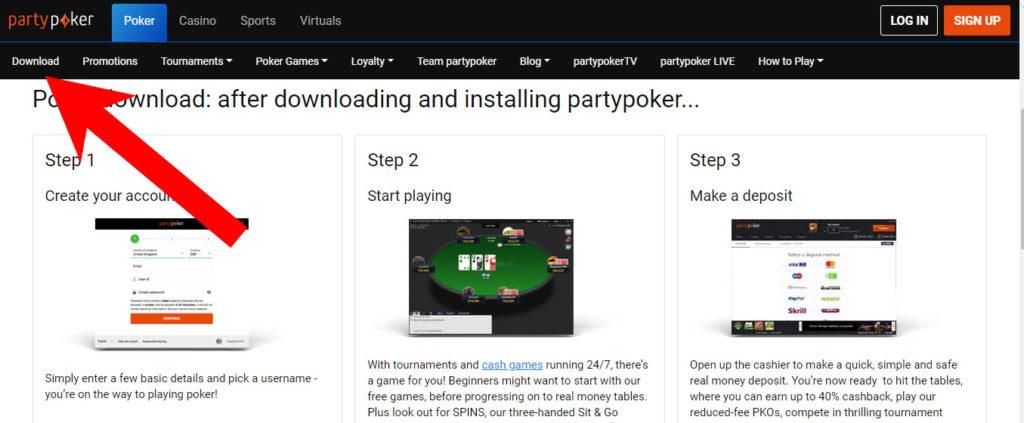 partypoker-download