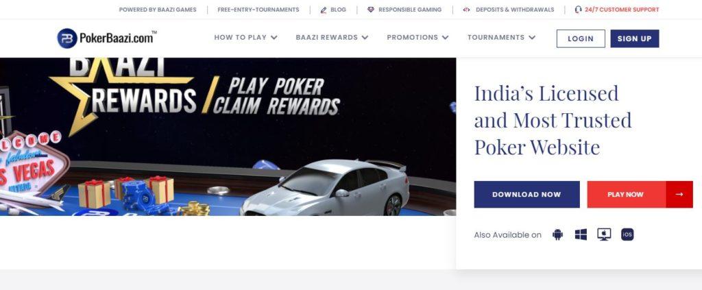 pokerbaazi site